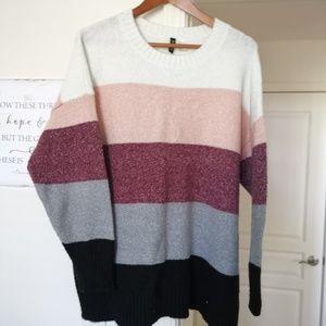 H&M Color Block Sweater